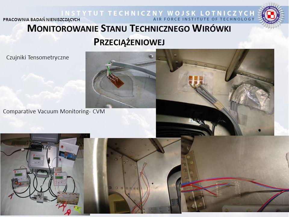 M ONITOROWANIE S TANU T ECHNICZNEGO W IRÓWKI P RZECIĄŻENIOWEJ Comparative Vacuum Monitoring- CVM Czujniki Tensometryczne PRACOWNIA BADAŃ NIENISZCZĄCYC