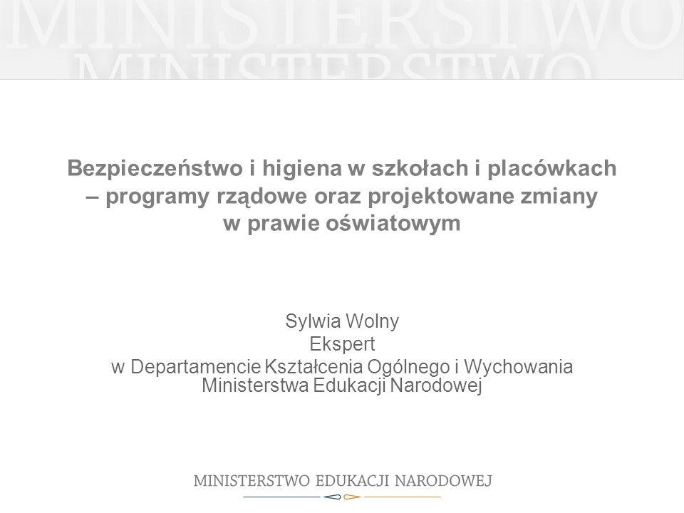 Podstawa prawna Uchwała Nr 172/2008 Rady Ministrów z dnia 19 sierpnia 2008 roku w sprawie przyjęcia Rządowego Programu na lata 2008-2013 Bezpieczna i przyjazna szkoła