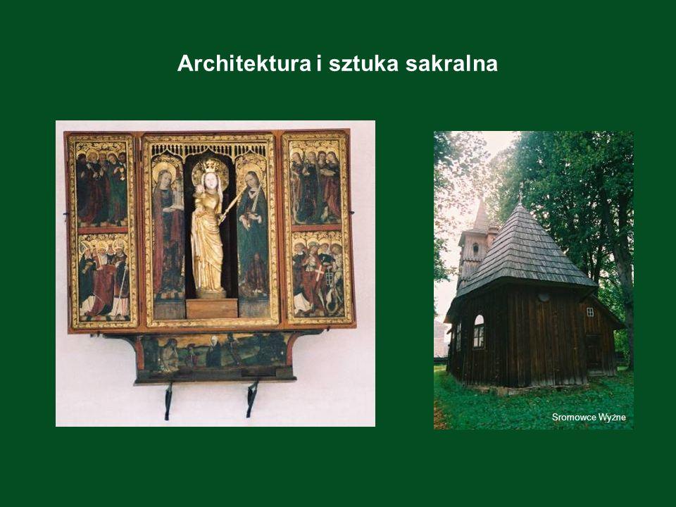 Architektura i sztuka sakralna Sromowce Wyżne