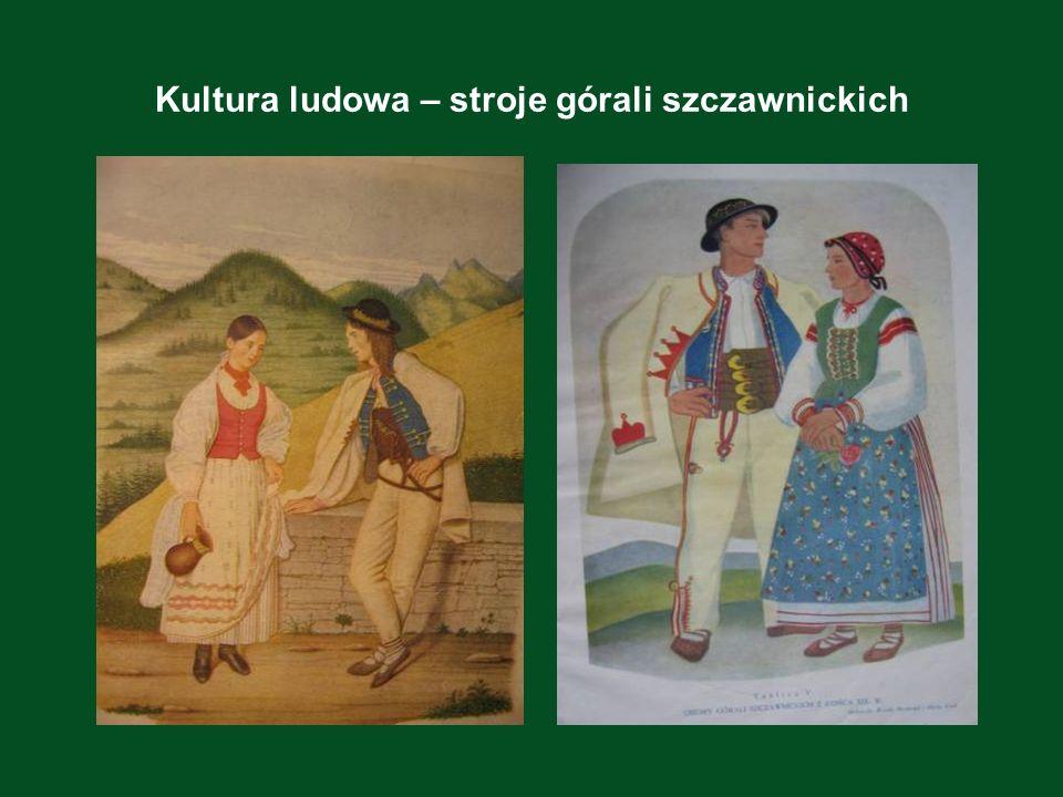 Kultura ludowa – stroje górali szczawnickich