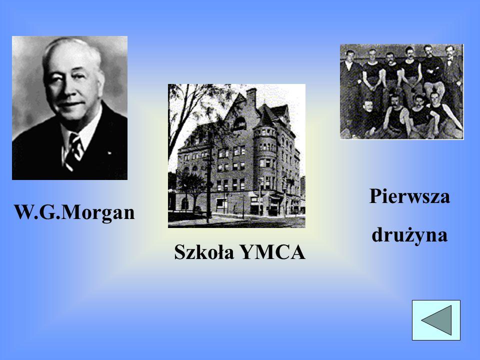 TROCHĘ HISTORII Pomysłodawcą siatkówki był Amerykanin W.G. Morgan, który w 1895 wprowadził grę na teren szkoły YMCA(Chrześcijańskie Stowarzyszenie Mło
