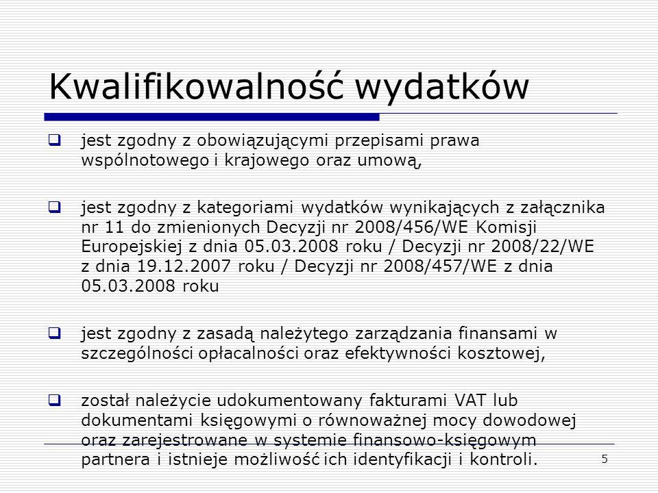 6 Okres kwalifikowalności Okres kwalifikowalności dla Programów Rocznych: POCZĄTEK = 1 stycznia roku wskazanego w decyzji o finansowaniu, zatwierdzającej programy roczne państwa członkowskiego KONIEC = 30 czerwca roku N+2, gdzie N oznacza rok wskazany w decyzji o finansowaniu zatwierdzającej program roczny państwa członkowskiego Wyjątek.