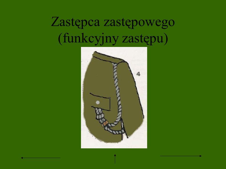 Przewodniczący ZHP - sznur skórzany noszony z szyi (tak jak w drużynach żeglarskich) 13