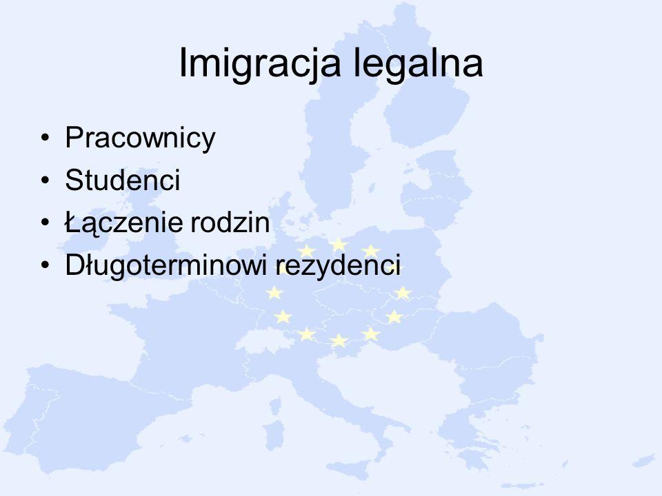 Imigracja legalna Pracownicy Studenci Łączenie rodzin Długoterminowi rezydenci
