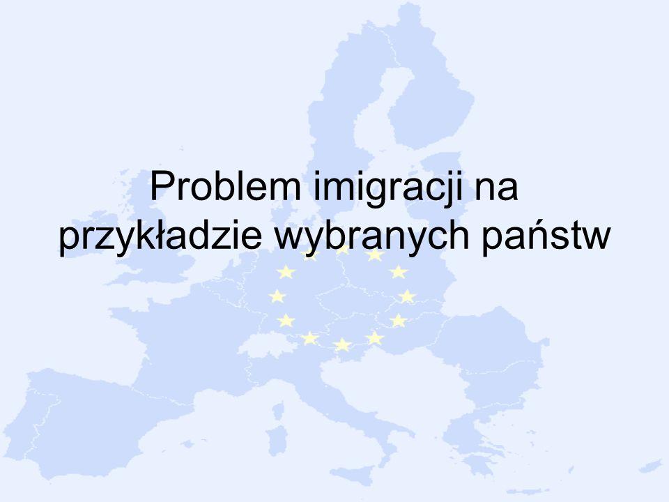 Problem imigracji na przykładzie wybranych państw
