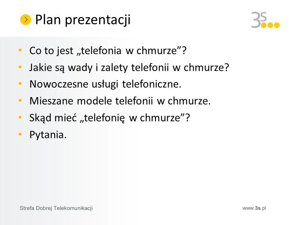 Co to jest telefonia w chmurze? Jakie są wady i zalety telefonii w chmurze? Nowoczesne usługi telefoniczne. Mieszane modele telefonii w chmurze. Skąd