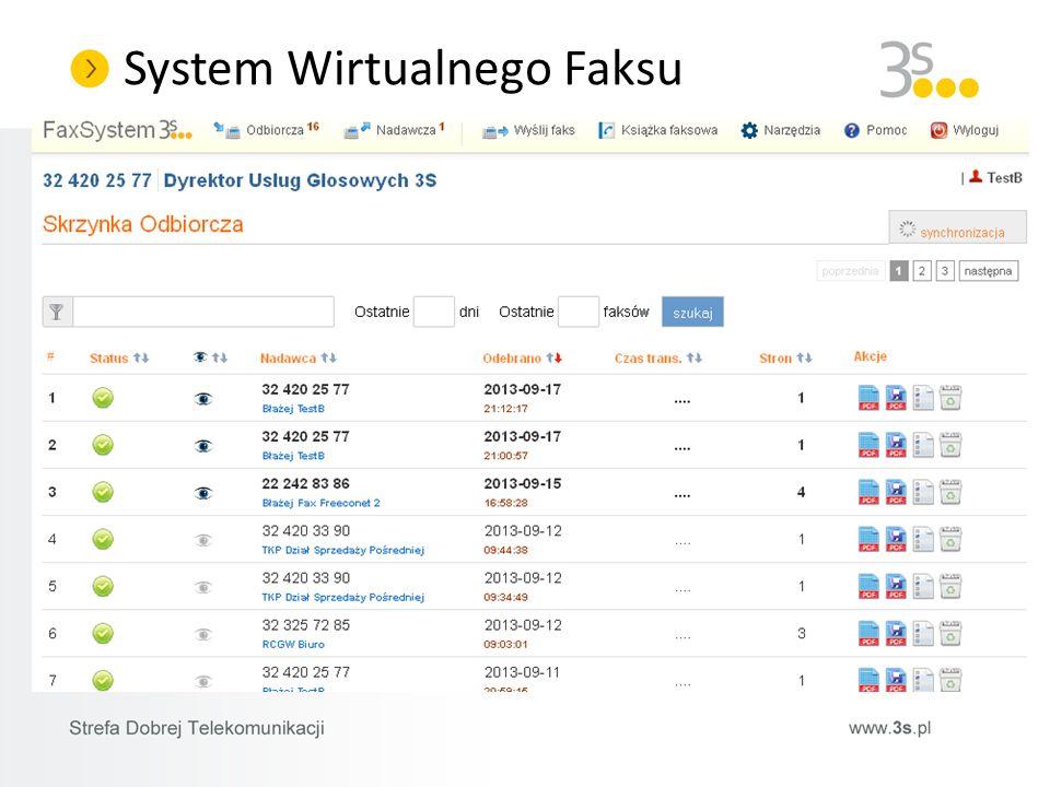 System Wirtualnego Faksu