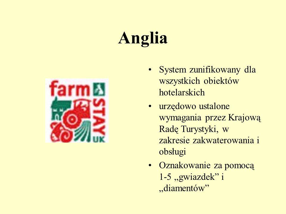 Austria Koła Gościnnych Farm Urlaub am Bauerhof funkcjonują w ramach Izb Rolniczych Jakość oznaczona za pomocą 1-4 stokrotek Minimum 5 gatunków zwierz