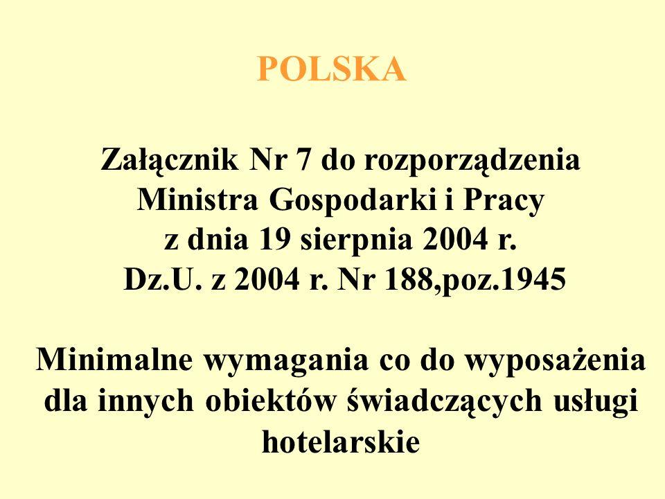 Pokój jednoosobowy NiemcyWaliaPolska wg kategor Polska wg ustawy tylko nocleg8 m210 m26 m2 nocleg i miejsce do siedz. i pisania 12 m213 m2brak danych