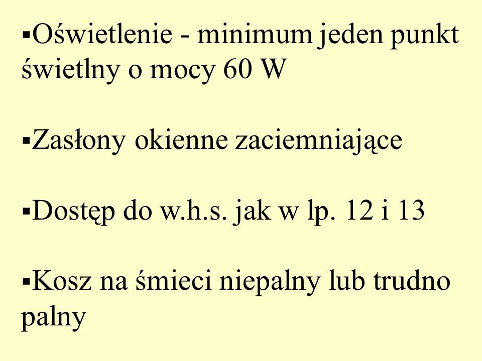 Pościel dla jednej osoby: 1) kołdra lub dwa koce 2) poduszka 3) poszwa 4) poszewka na poduszkę 5) prześcieradło