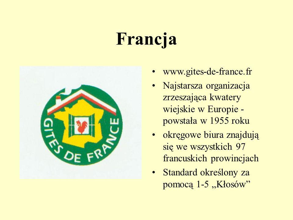 Opracowała Krystyna Drąg Inne kraje Europejskie Rolnicy-kwaterodawcy tworzą także swoje organizacje w Szwajcarii, Włoszech, Danii czy Hiszpanii, a pra