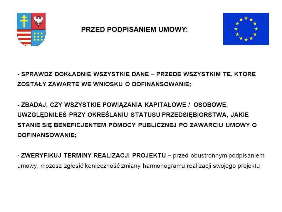 Urząd Marszałkowski Województwa Świętokrzyskiego Departament Funduszy Strukturalnych Oddział Wdrażania Projektów Gospodarczych Kierownik Oddziału – tel.