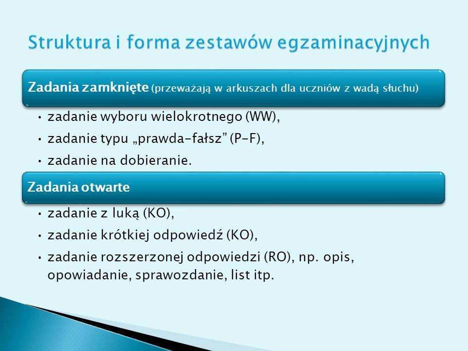 Dwa obszary: I. Czytanie i odbiór tekstów kultury II. Tworzenie własnego tekstu