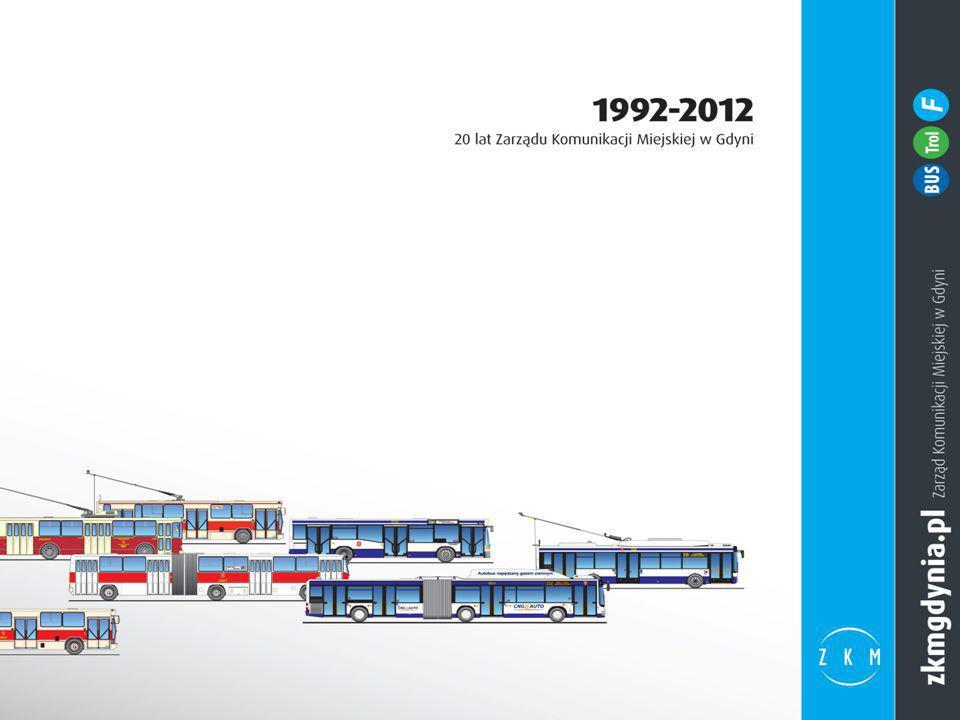 Etap realizacji projektów innowacyjnych i powierzenia świadczenia usług przewozowych operatorom komunalnym (2005-2012) (3/6) zakup przez komunalnego przewoźnika PKM Sp.