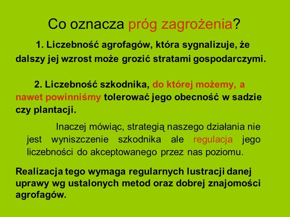 Czy ważna jest ocena liczebności entomo- i akarofagów.