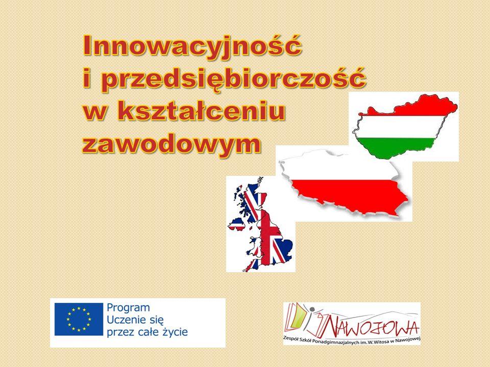 Austria - Grabnerhof 22-letnia współpraca 20-25 uczniów wyjeżdża na 1 tydzień W tym samych czasie młodzież z Austrii przebywa na Węgrzech Uczniowie mają przedmioty zawodowe i j.