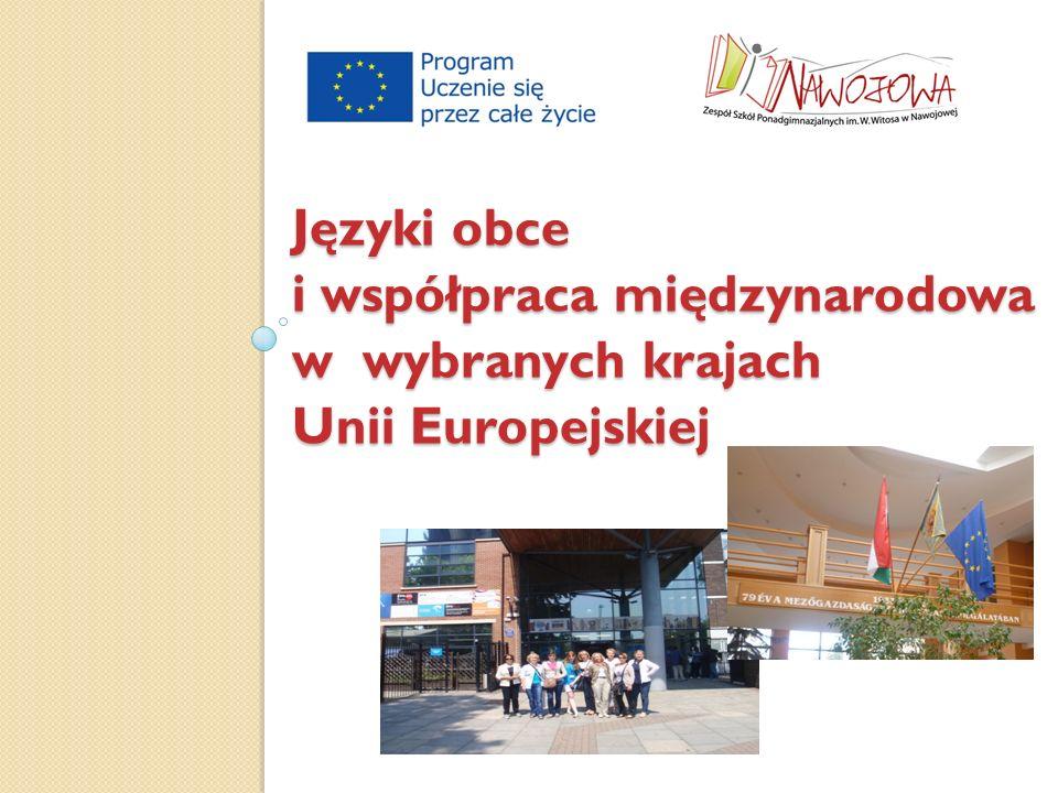 Języki obce i współpraca międzynarodowa w wybranych krajach Unii Europejskiej