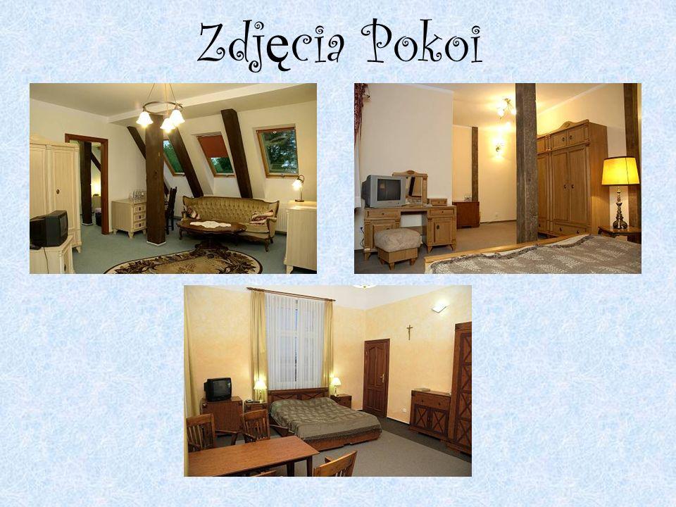 Opis Pokoi Hotel dysponuje 28 pokojami o wysokim standardzie.
