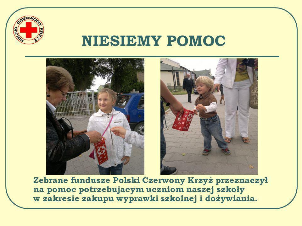 POZNAJEMY DZIAŁALNOŚĆ POLSKIEGO CZERWONEGO KRZYŻA 20 października 2011r.w naszej szkole odbył się apel poświęcony działalności Polskiego Czerwonego Krzyża.