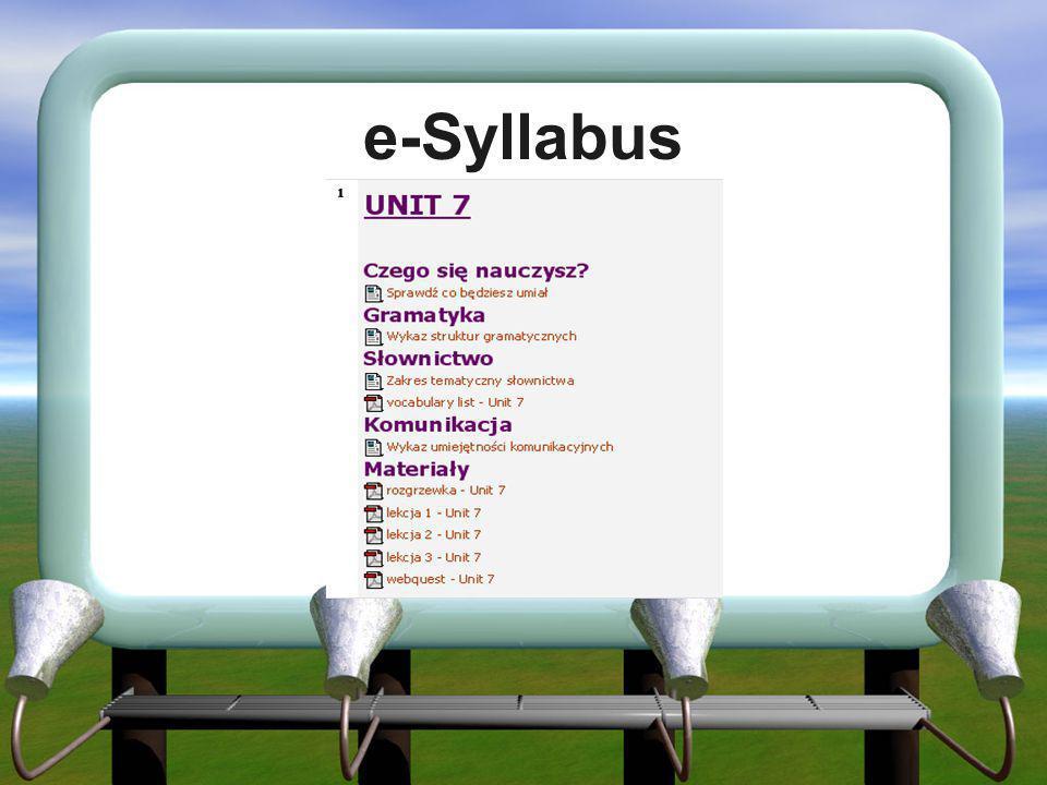 e-Syllabus