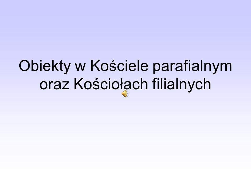 Obrazy Stacji Drogi Krzyżowej przybyły w 1945 roku do Szydłowic.