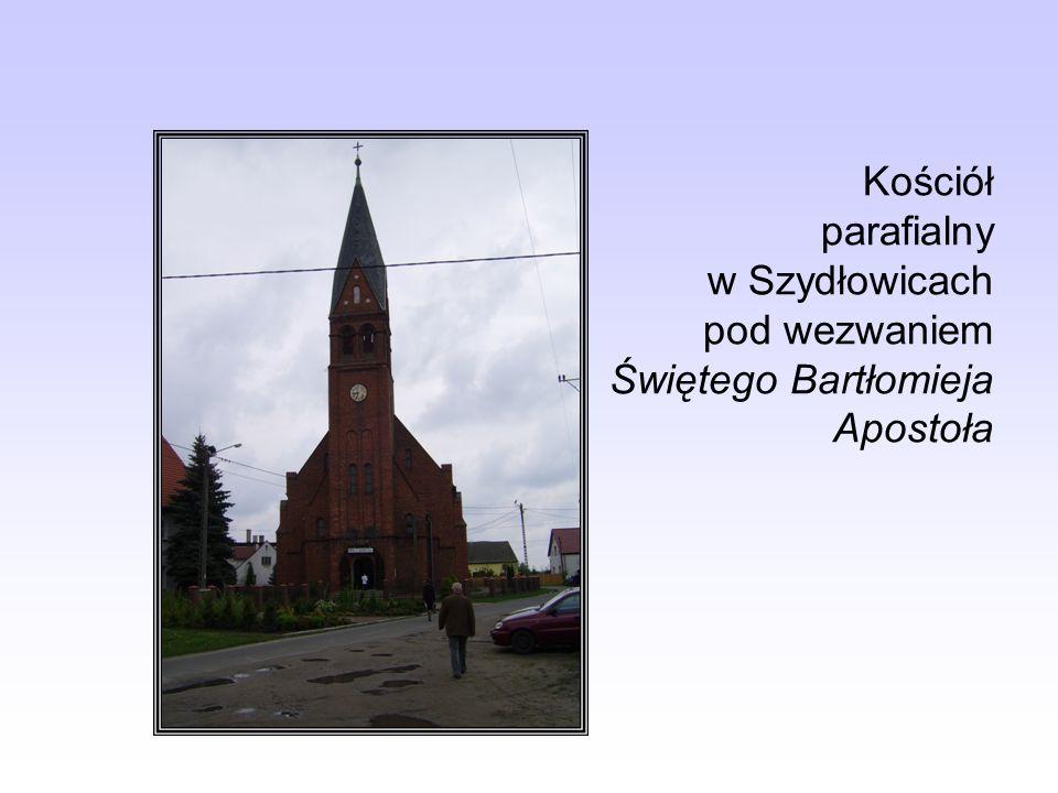 Krzyż umiejscowiony na trasie Szydłowice - Błota – Dobrzyń.