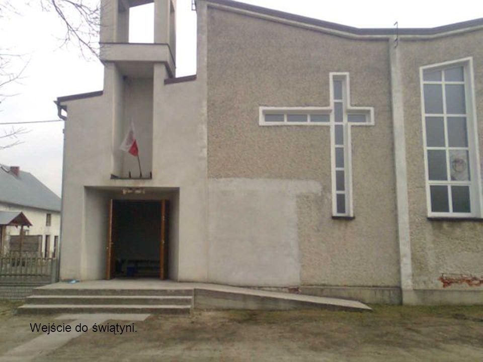 Wejście do świątyni.