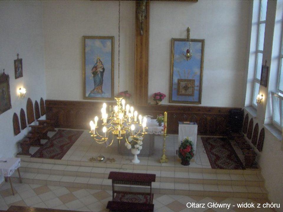 Ołtarz Główny - widok z chóru