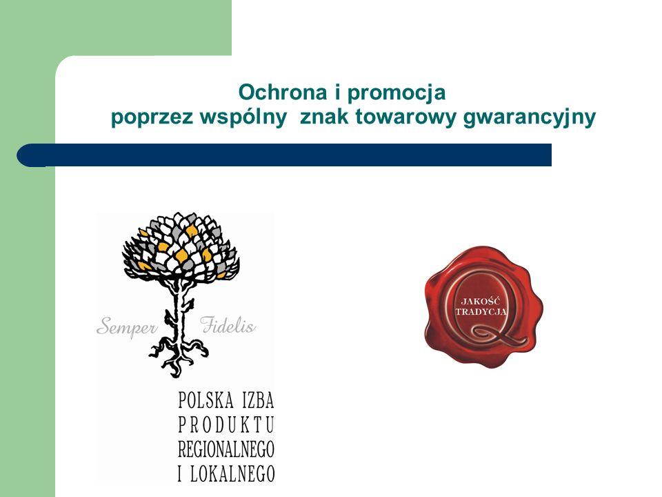 Ochrona i promocja poprzez wspólny znak towarowy gwarancyjny
