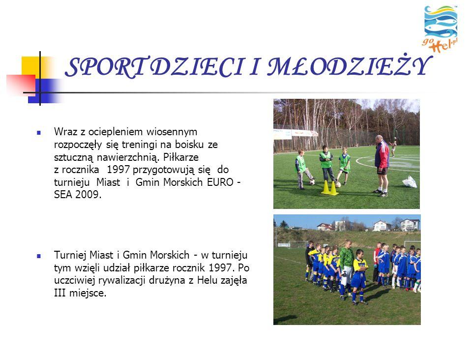 SPORT DZIECI I MŁODZIEŻY Wraz z ociepleniem wiosennym rozpoczęły się treningi na boisku ze sztuczną nawierzchnią. Piłkarze z rocznika 1997 przygotowuj