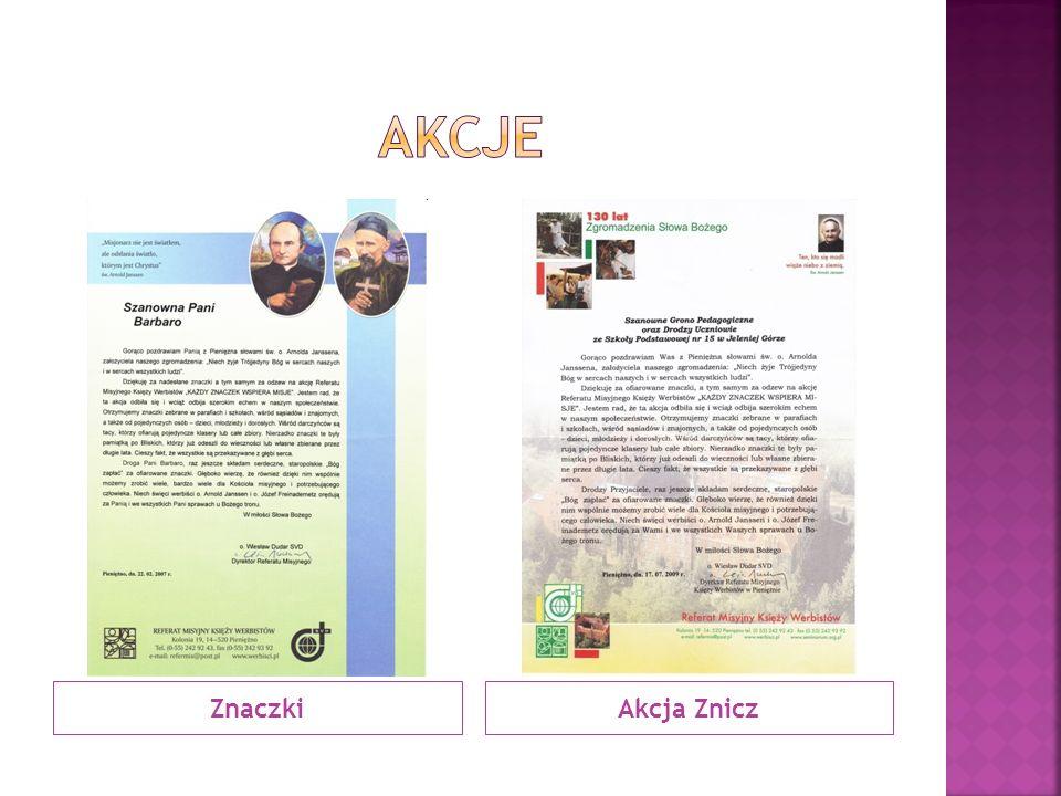 ZnaczkiAkcja Znicz