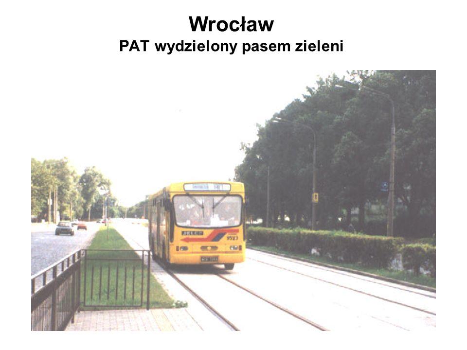 Wrocław PAT wydzielony pasem zieleni