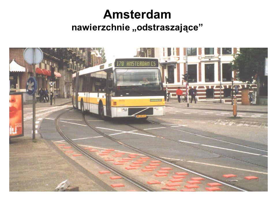 Amsterdam nawierzchnie odstraszające