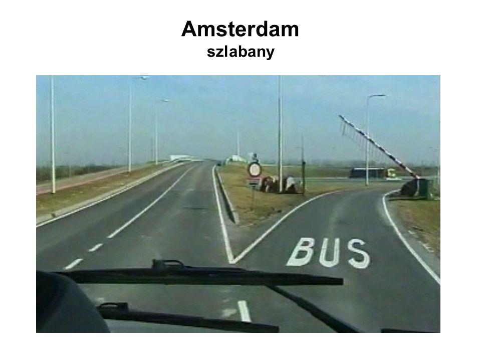 Amsterdam szlabany