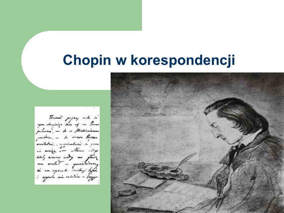 Chopin w korespondencji