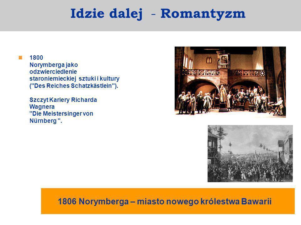 1800 Norymberga jako odzwierciedlenie staroniemieckiej sztuki i kultury (