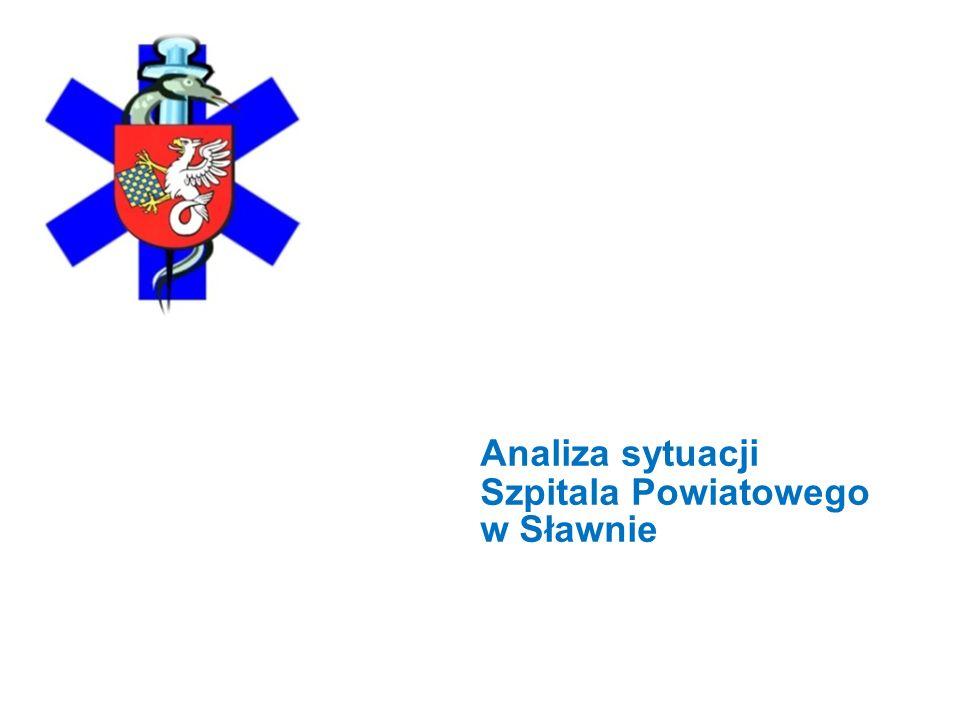 Analiza sytuacji Szpitala Powiatowego w Sławnie 2 Szpital Powiatowy w Sławnie powstał 1 kwietnia 2002r.