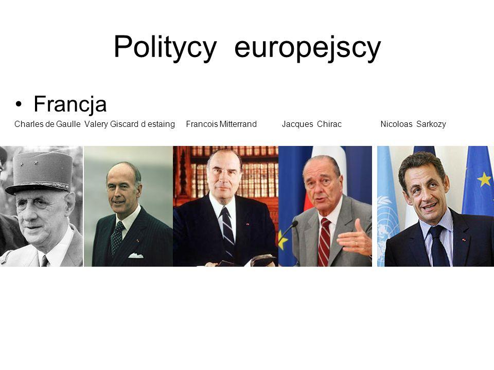 Politycy europejscy Rosja Borys Jelcyn Władymir Putin