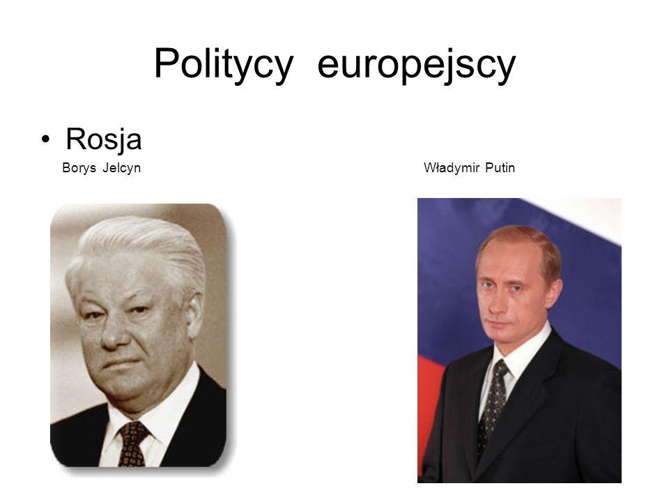 Politycy europejscy Europa środkowo - wschodnia Vaclav Havel Janos Kadar Nicolae Ceausescu Josip Broz Tito Slobodan Milosevic