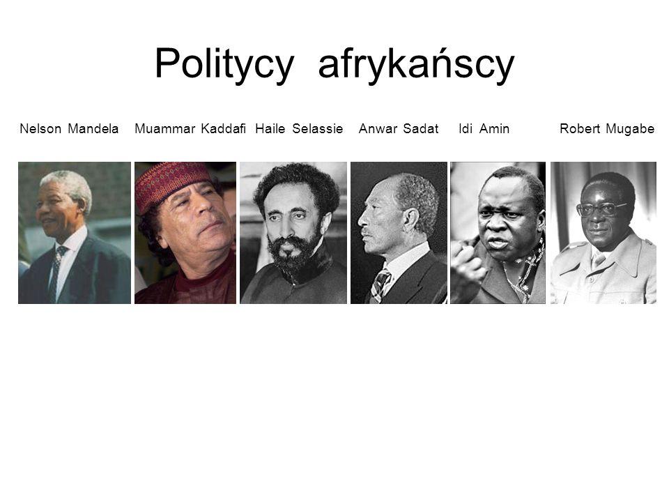Politycy azjatyccy Jaser Arafat Saddam Husajn Mahatma Gandhi Deng Xiaoping Kim Dzong Il Ban Ki-moon