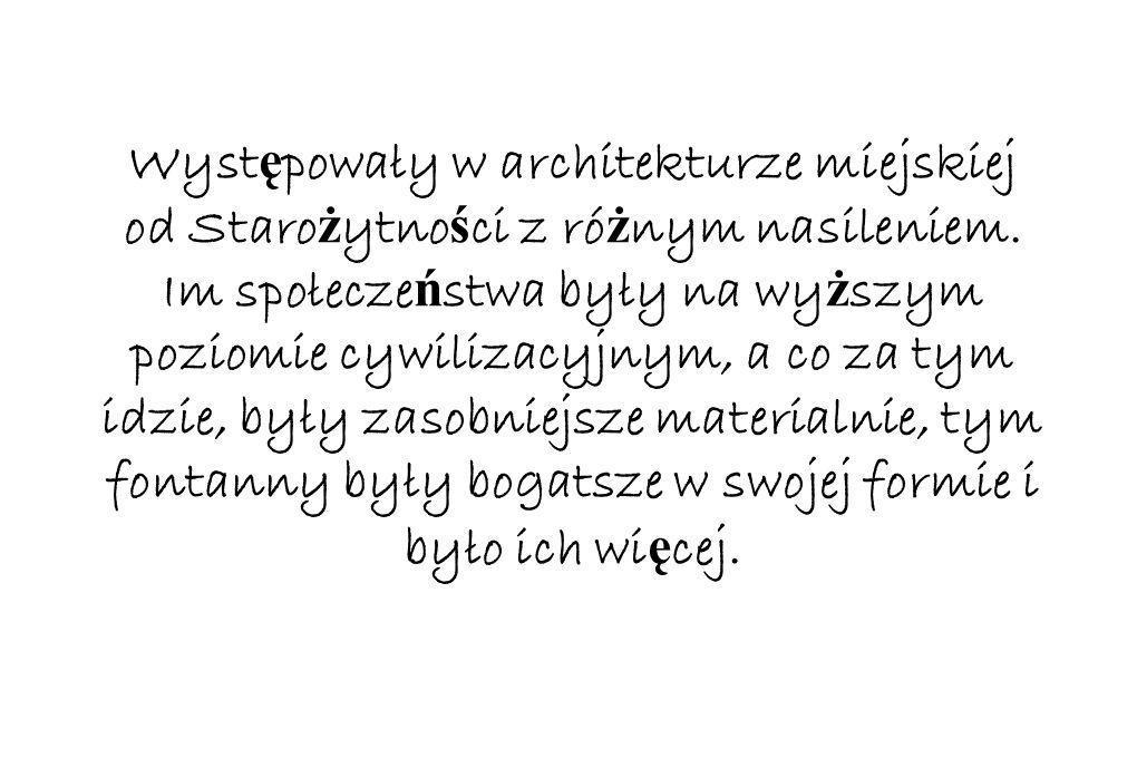 Wyst ę powały w architekturze miejskiej od Staro ż ytno ś ci z ró ż nym nasileniem.