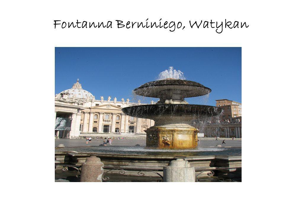 Fontanna Berniniego, Watykan