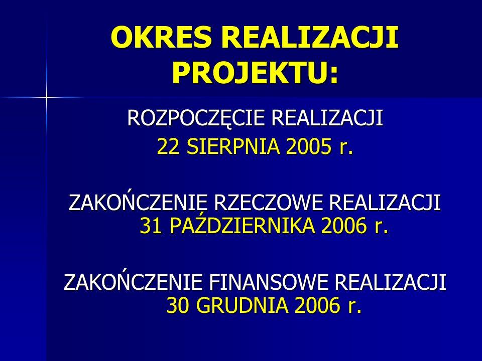 D/ Na terenie wsi Smardzowice, gdzie był realizowany Projekt, umieszczone zostały na stałe 2 tablice informacyjne – obecnie pamiątkowe – o współfinansowaniu inwestycji z Europejskiego Funduszu Rozwoju Regionalnego oraz budżetu państwa w ramach Zintegrowanego Programu Operacyjnego Rozwoju Regionalnego.