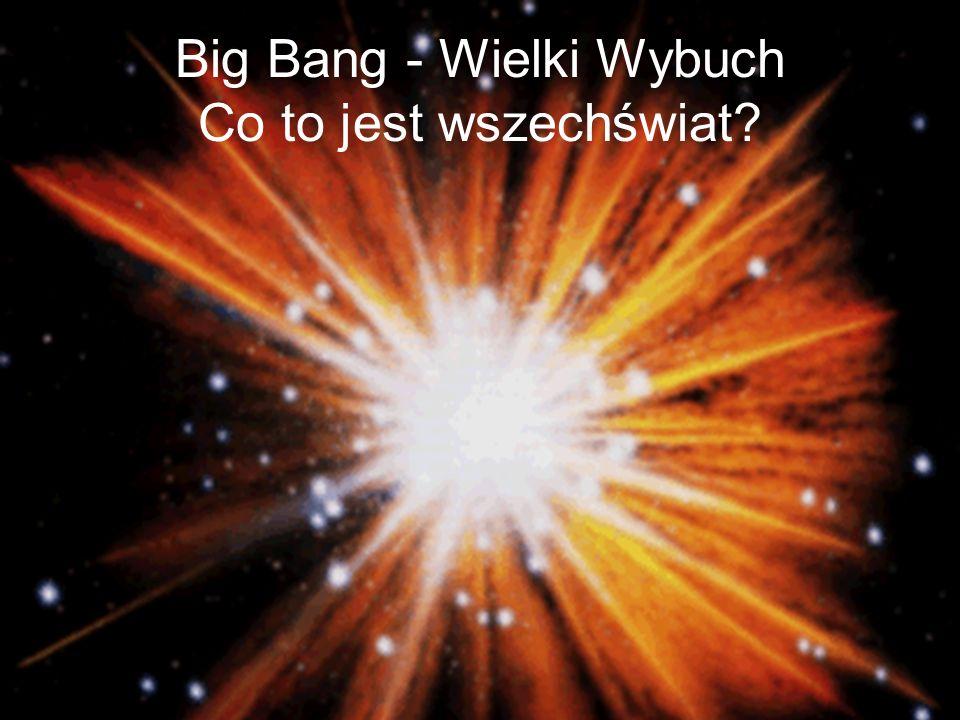 Big Bang - Wielki Wybuch Co to jest wszechświat?