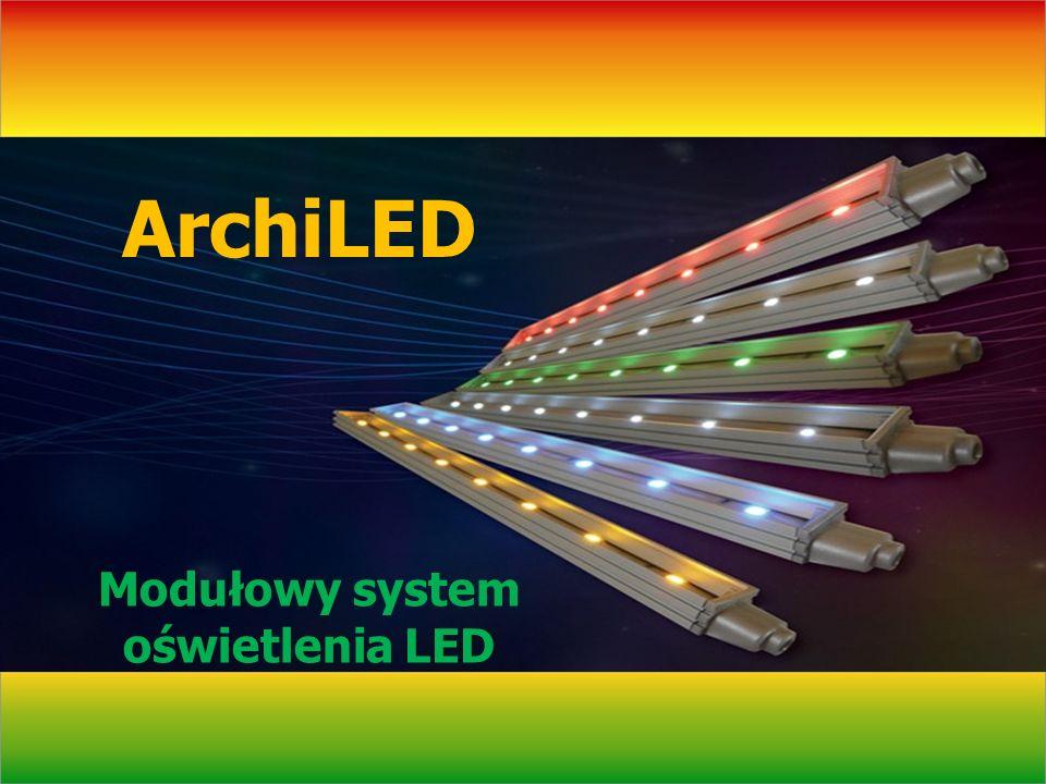 Łatwy montaż archiled Plastikowe uchwyty (po 2 na moduł) należy przymocować w 1 linii za pomocą wkrętów lub dwustronnej taśmy klejącej (powierzchnia gładka).