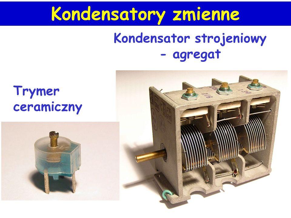 Kondensator strojeniowy - agregat Trymer ceramiczny