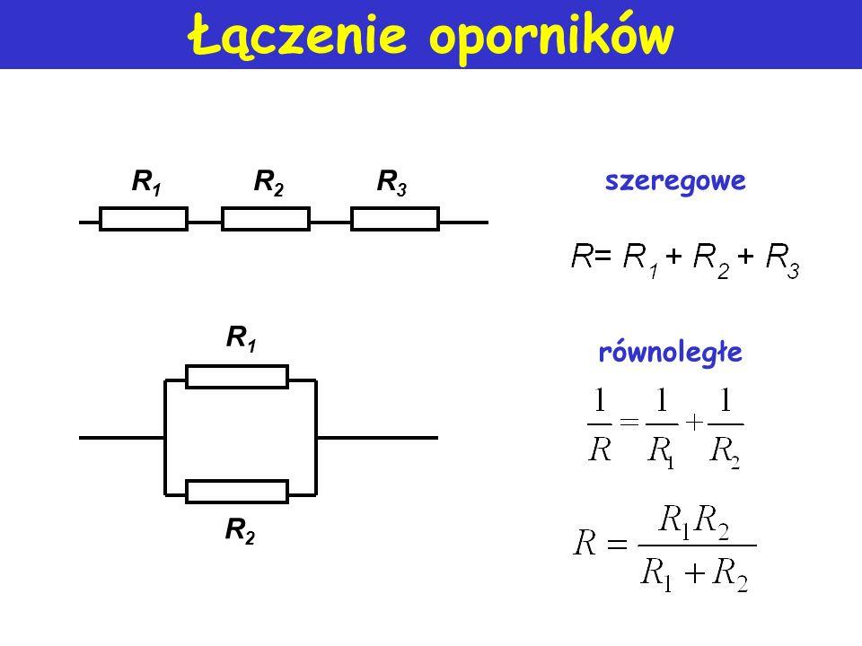 NPK (II) prawo Kirchhoffa U1U1 + _ E + _ +_+_ U2U2 _ + U3U3 15V=20V+3V-8V