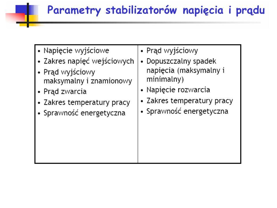 Zasada stabilizacji napięcia i prądu