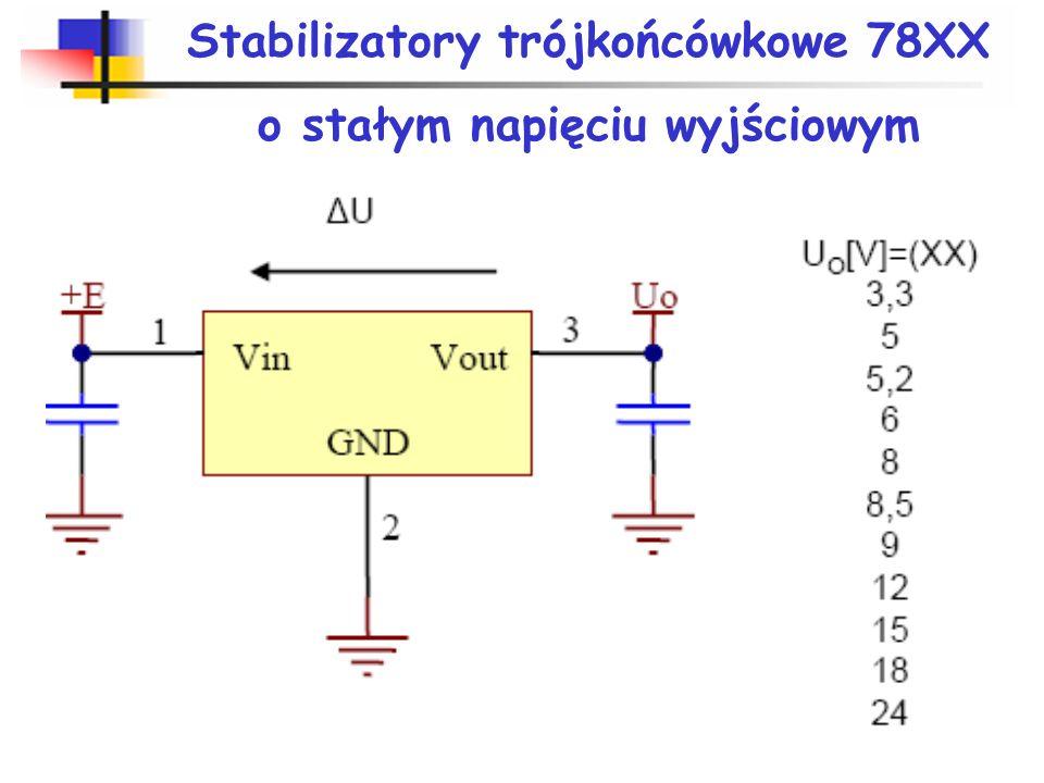 Parametry stabilizatorów napięcia i prądu
