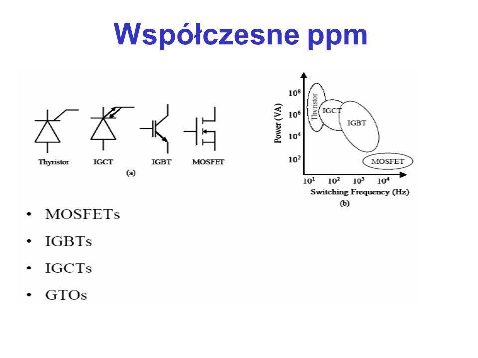 przekazują energię elektryczną między dwoma obwodami różniącymi się częstotliwością oraz wartościami napięć i prądów Układy przekształtnikowe - energoelektroniczne